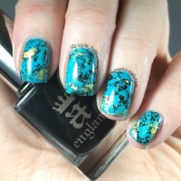 Turquoise Nail Art Tutorial - Keely's Nails
