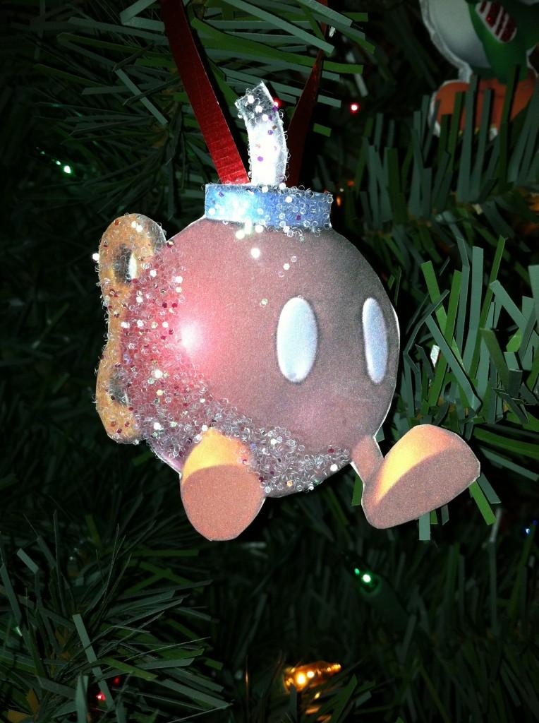 Nintendo Christmas Tree Ornaments