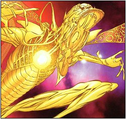 Parallax, the manifestation of fear in the DC Comics Universe (I'm a comics geek, so I love this. Shut up). Credit: DC Comics