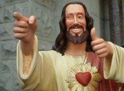 jesus thumbs up