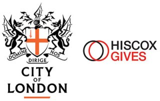City of London & Hiscox logos