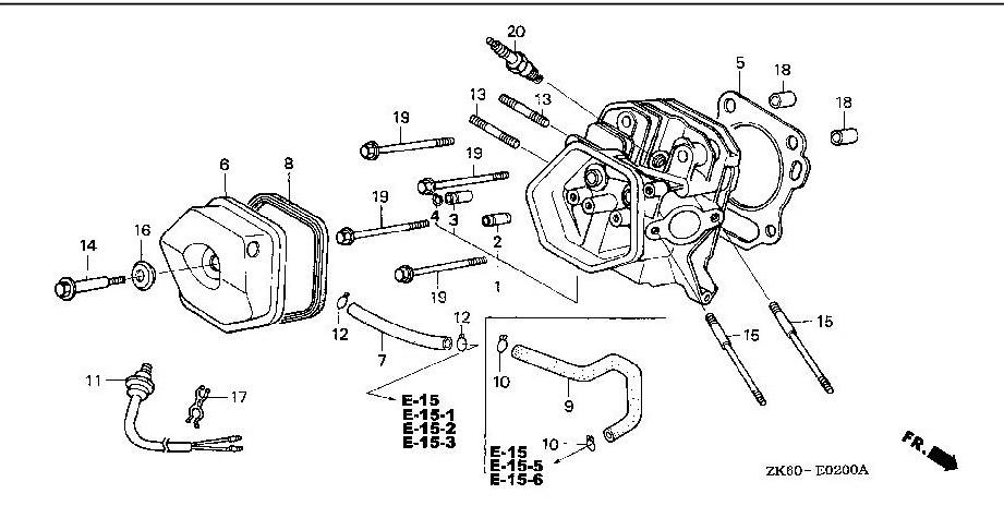 Honda Gxh50 Parts Diagram. Honda. Auto Wiring Diagram