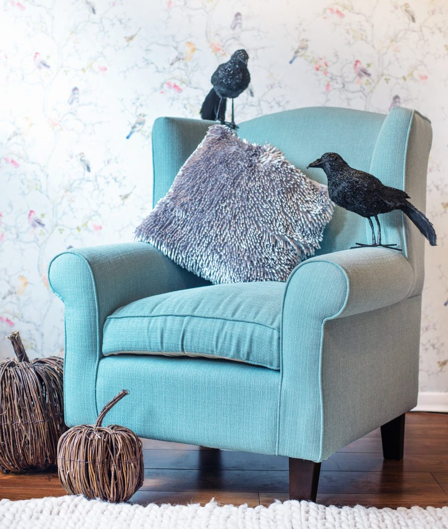 sloane sofa asda discount my wingback armchair a revelation from sons yes i have new beautiful artemis duck egg blue wing backed chair that is pride and joy