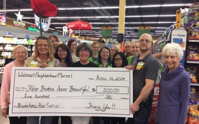 Walmart Neighborhood Market supports Roses, Chalk & Kites, Oh My!