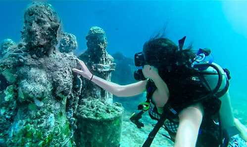 Image result for MUSA: Cancun's Underwater Museum