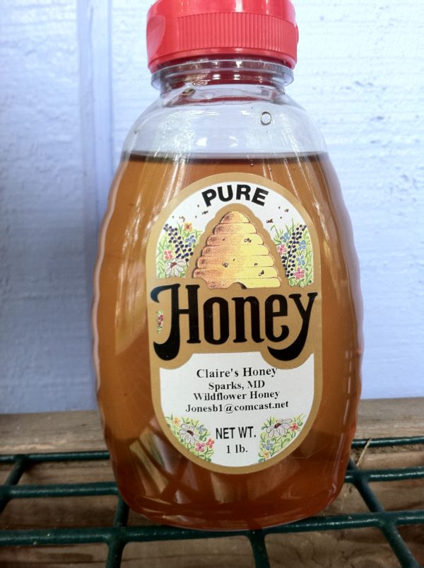 One of my honey labels
