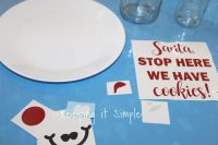 Christmas Paper Plates Target & So Decorating The Table Is ...