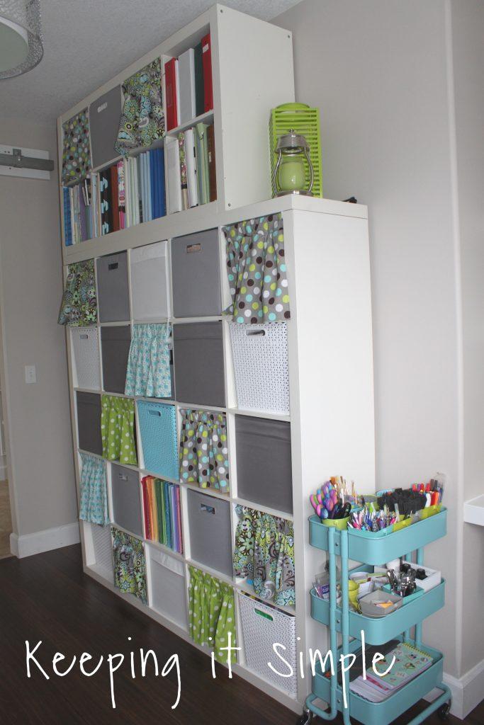 Craft Room Ideas Organization And Storage Ikea Craft Room Keeping It Simple