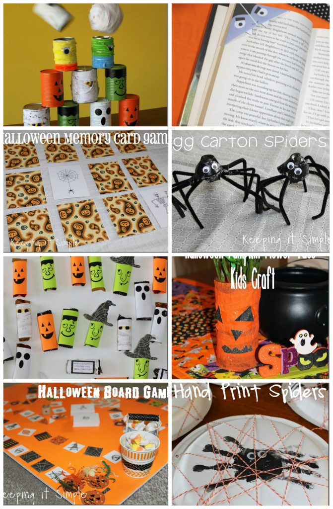 easy halloween kid craft