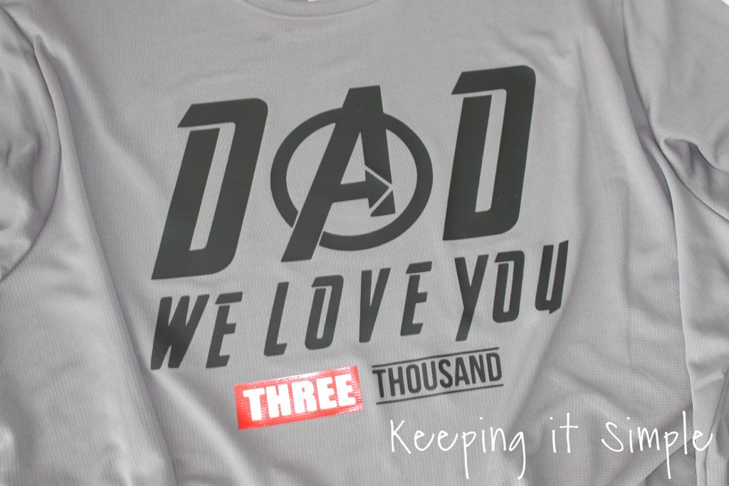 Download Avengers Shirt {I love you 3000} • Keeping it Simple