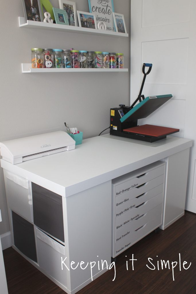 Craft Room Ideas Organization And Storage Ikea Craft Room Keeping It Simple