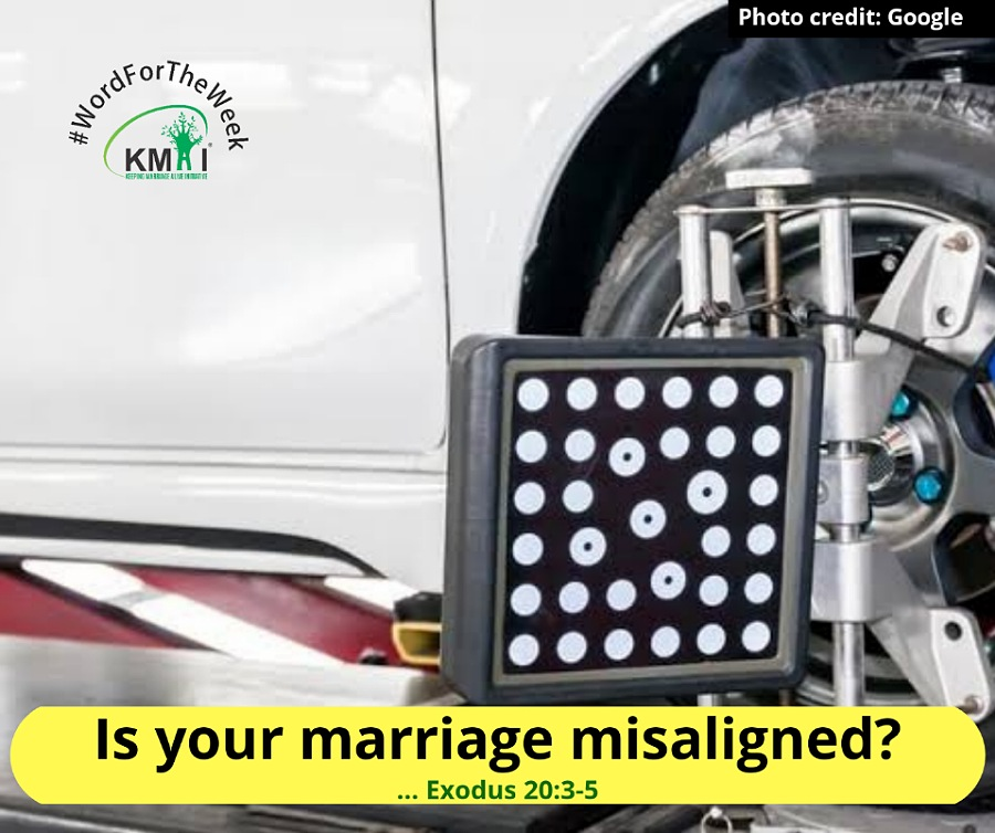 Is your marriage misaligned?