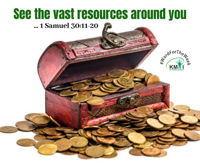 See the vast resources around you.