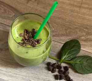 Clean Green Healthy Shamrock Shake