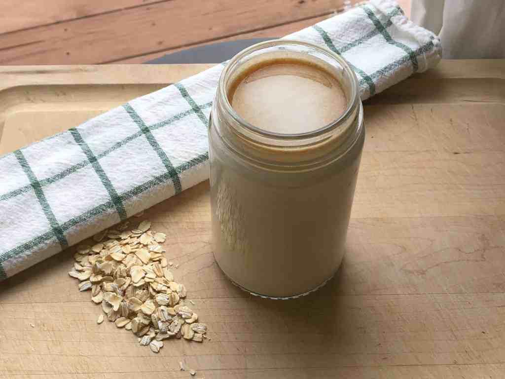 oat milk recipe