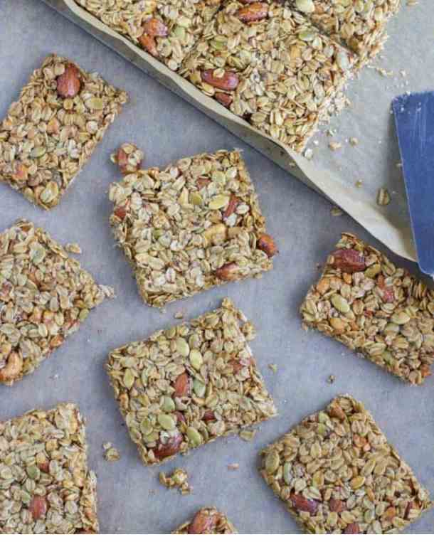 nut and seed granola bar