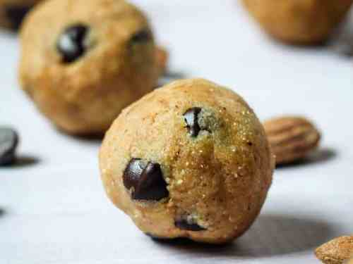 Vegan Cookie Dough Balls   Paleo and Gluten-Free
