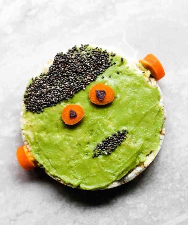 vegan halloween snacks monster