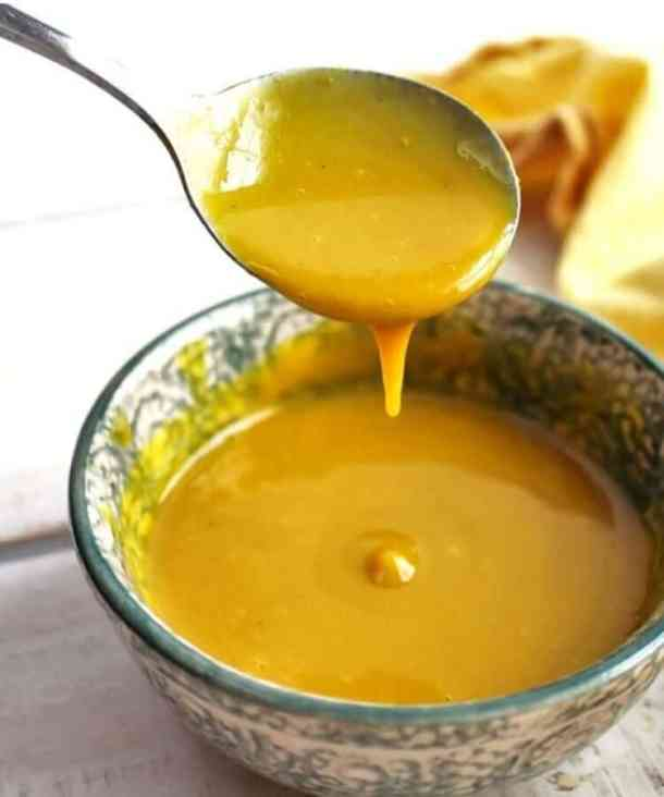 gluten free sauce, vegan honey mustard