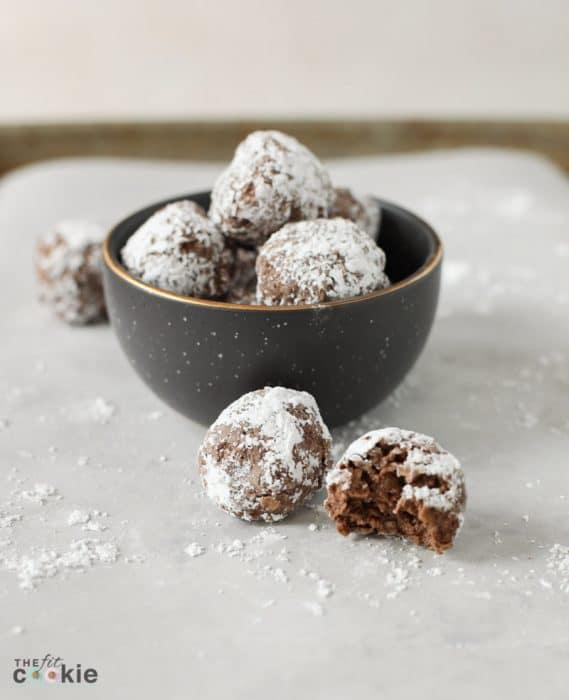 vegan no bake chocolate eskimo cookies