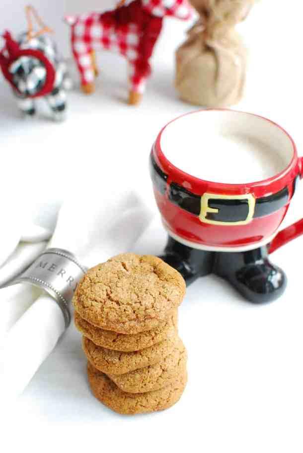 vegan gluten free ginger snaps