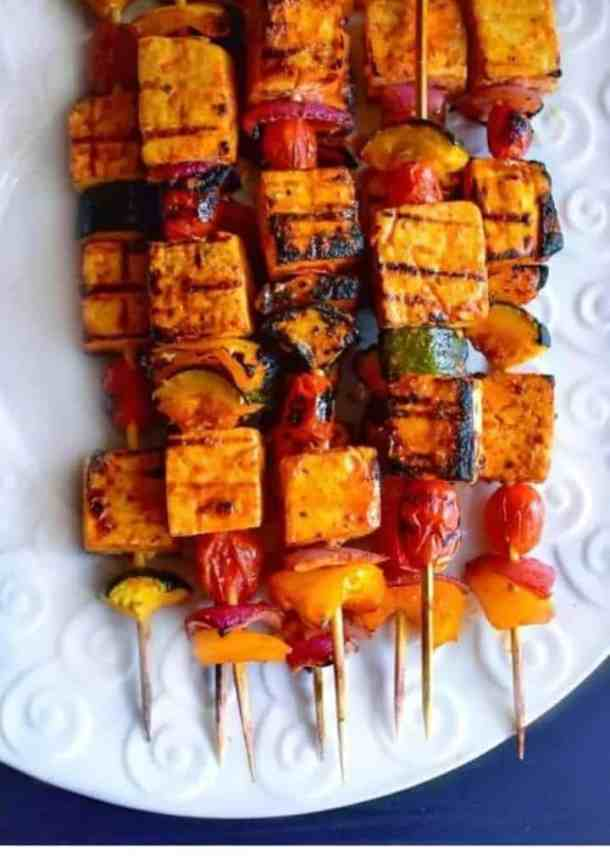 thai tofu skewers