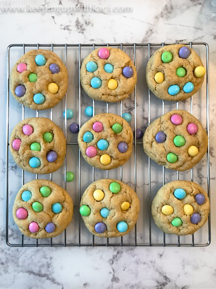 Chewy Delicious Spring M M Cookies