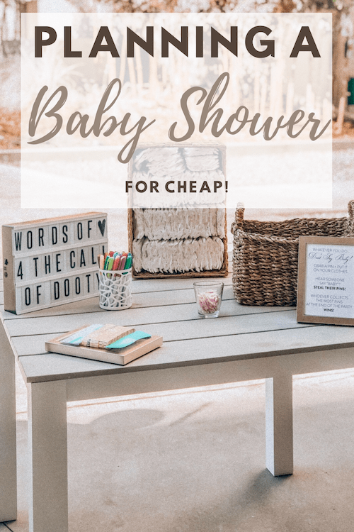 planning a baby shower, how to plan a baby shower on a budget