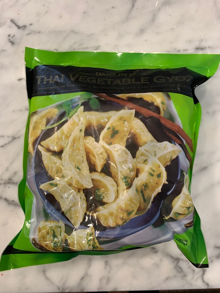 Trader Joe's Meals In Minutes: Thai Vegetable Gyoza