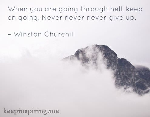 Image result for quotes on not giving up