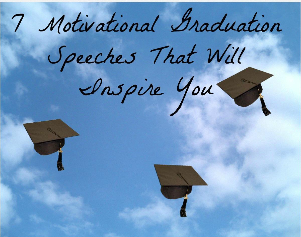 7 graduation speeches that