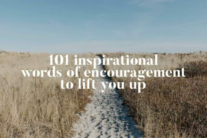 101 inspirational words of