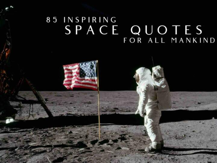 85 inspiring space quotes