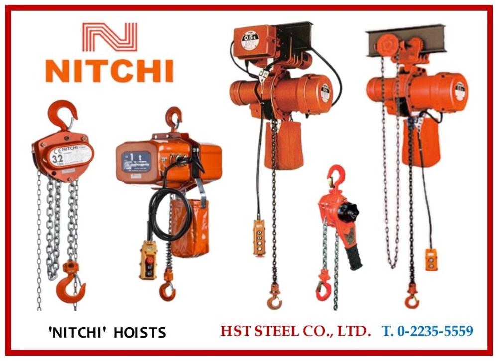 medium resolution of nitchi electric chain hoist wiring diagram