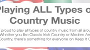 Playing All Types of Country Music