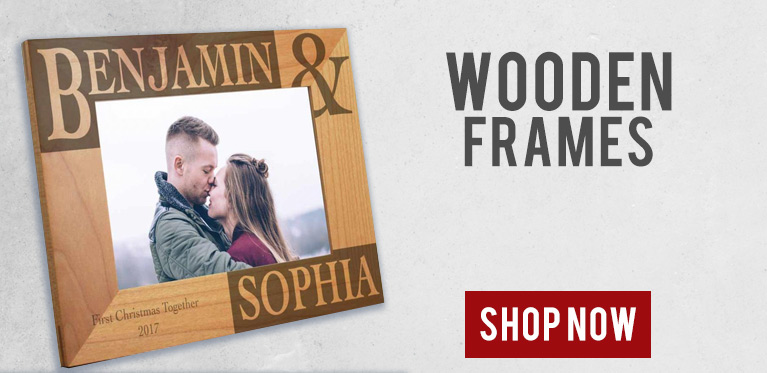 personalised photo frames high