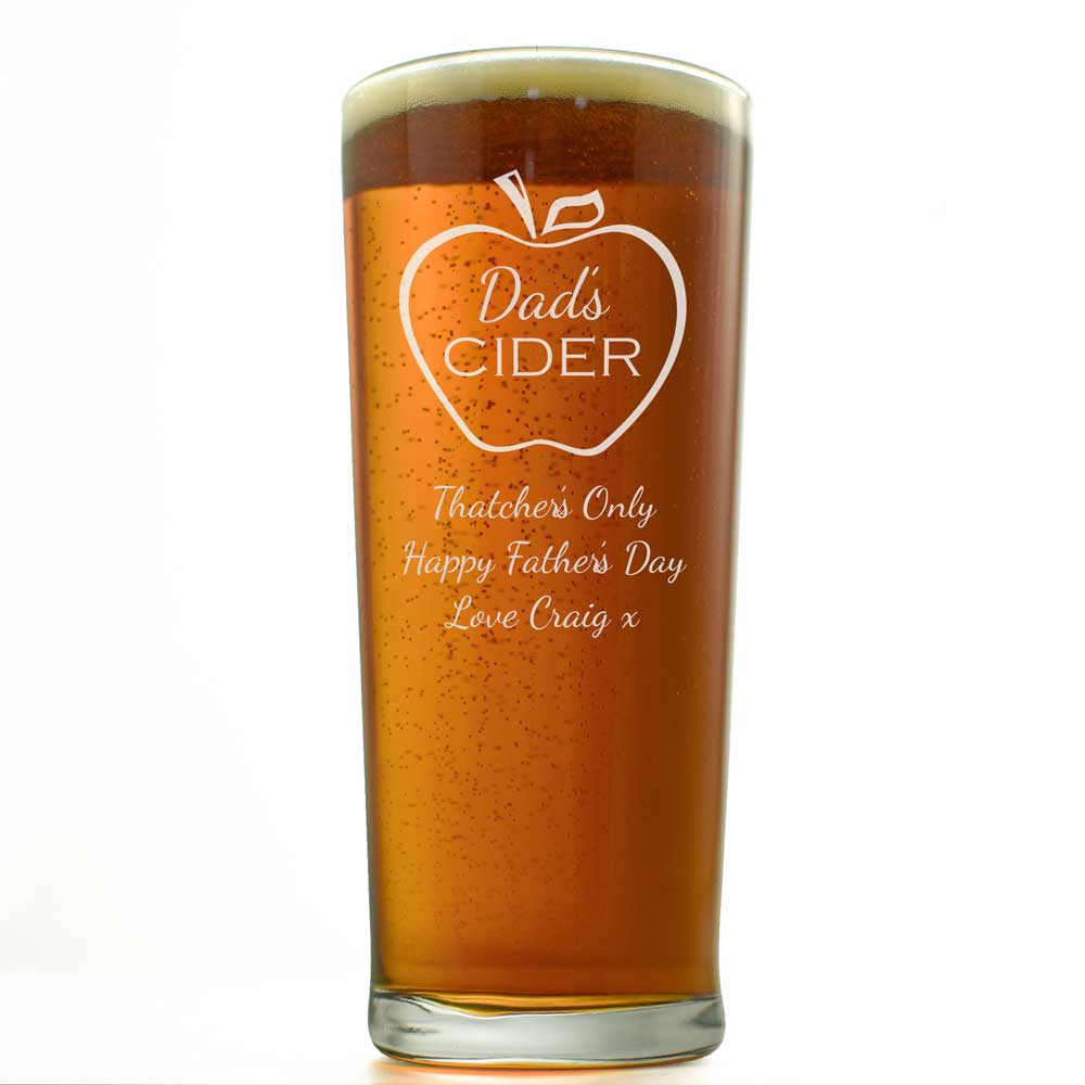 Cider Personalised Pint Glass