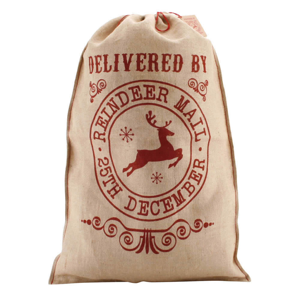 Best 28 Personalised Hessian Christmas Sack With
