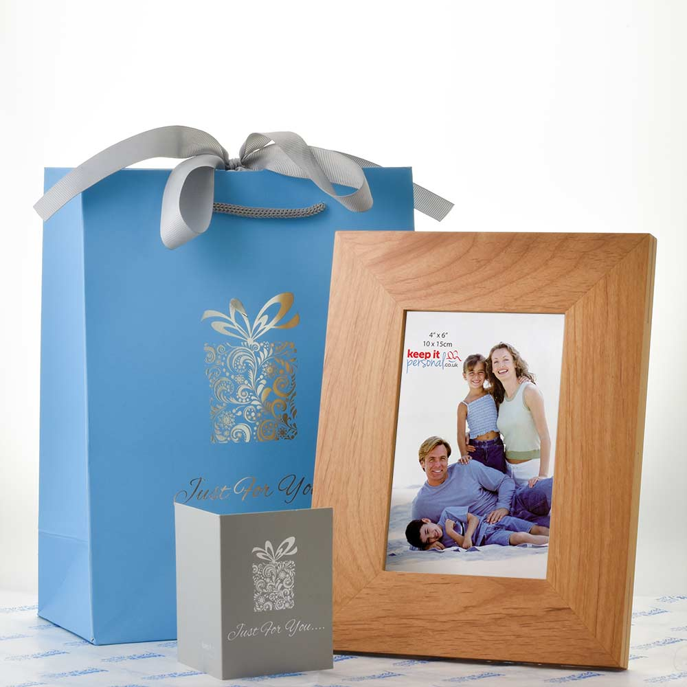 Personalised Engraved Memorial Photo Frame