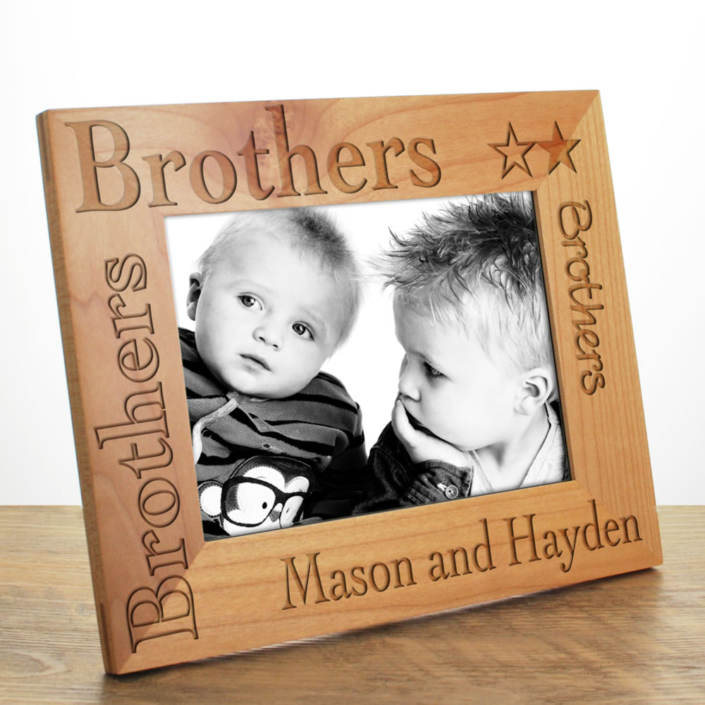 Brother Photo Frame Personalised 6x4 7x5 And 10x8 From