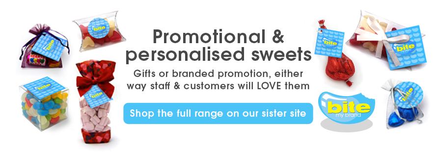personalised promotional sweets uk