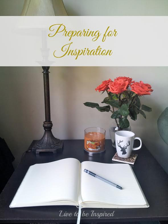 Tips to prepare for inspiration