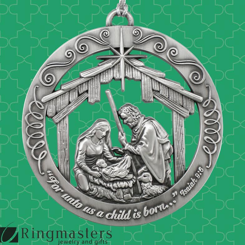 Christmas Ornament from Ringmasters