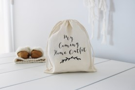 My Coming Home Outfit - Keepsake Fabric Bag