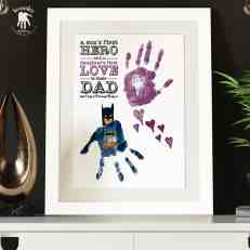 Dad-handprints-footprints-keepsake-Batman-daughter