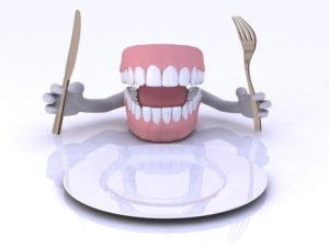 cartoon dentures