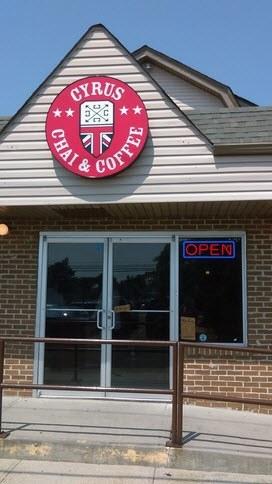 Cyrus Chai Coffee Company in long island