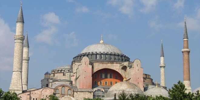 Erdogan tells Greeks on National Day: We will convert Hagia Sofia into mosque