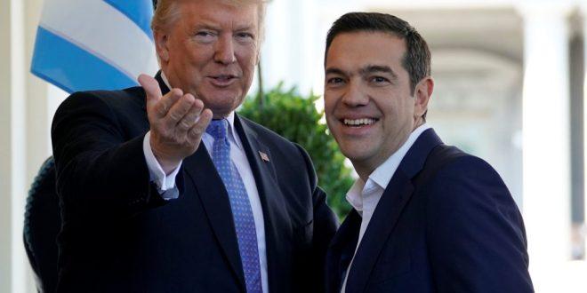 Trump congratulates Tsipras on ratification of Prespes Agreement