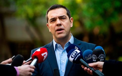"""Prespes ratification is a patriotic duty,"" says Tsipras as thousands ready for protest rally"